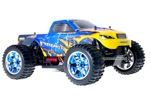 Himoto Brushless Truck Blue Atlas 2.4GHz AANBIEDING!